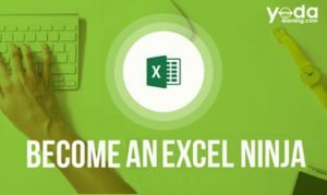 Become an Excel Ninja | Excel Training